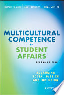 Multicultural Competence in Student Affairs Book PDF