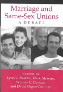 Marriage and Same-sex Unions