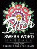 Swear Word Mandala Coloring Pages Volume 2 Book PDF
