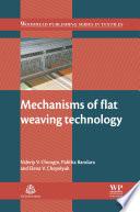 Mechanisms of Flat Weaving Technology Book