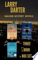 Malone Mystery Novels Box Set