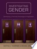 Investigating Gender Book