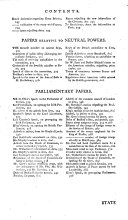 A    Collection of State Papers  Relative to the War Against France