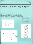 Crime Laboratory Digest
