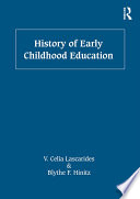 History of Early Childhood Education Book