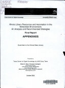 Illinois Library Resources and Automation in the Networked Environment