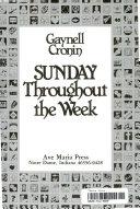 Sunday Throughout The Week PDF