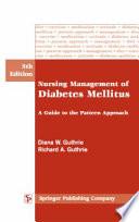 Management Of Diabetes Mellitus Book PDF