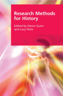Research Methods for History