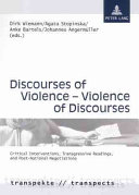 Discourses of Violence  violence of Discourses Book PDF