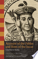 Account of the Fables and Rites of the Incas Book PDF
