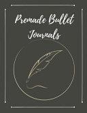 Premade Bullet Journals