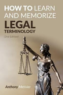 How to Learn and Memorize Legal Terminology
