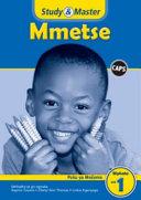 Books - Study & Master Mmetse Puku Ya Mosomo Mphato Wa 1 | ISBN 9781107613829