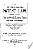 Hints to inventors, concerning procuring of patents