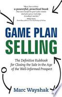 Game Plan Selling