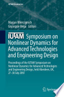 Iutam Symposium On Nonlinear Dynamics For Advanced Technologies And Engineering Design Book PDF