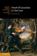 Proof of Causation in Tort Law - Seite 430