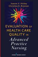 Evaluation of Health Care Quality in Advanced Practice Nursing [Pdf/ePub] eBook