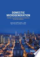 Domestic Microgeneration Book