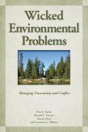 Wicked Environmental Problems [Pdf/ePub] eBook