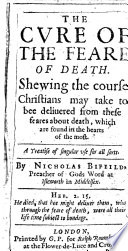 The Cure of the Feare of Death