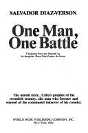 One Man  One Battle
