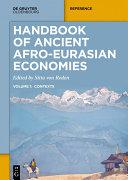 Handbook of Ancient Afro-Eurasian Economies Pdf/ePub eBook