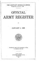 U S  Army Register