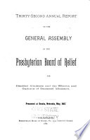 Annual Report to the General Assembly
