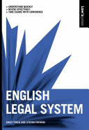 Valuepack:Law Express:English Legal System/Law Express:Constitutional and Administrative Law/Law Express:Criminal Law 1st Edition/Law Express