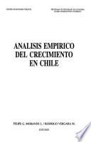 Análisis empírico del crecimiento en Chile