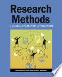 Research Methods in Human Computer Interaction Book