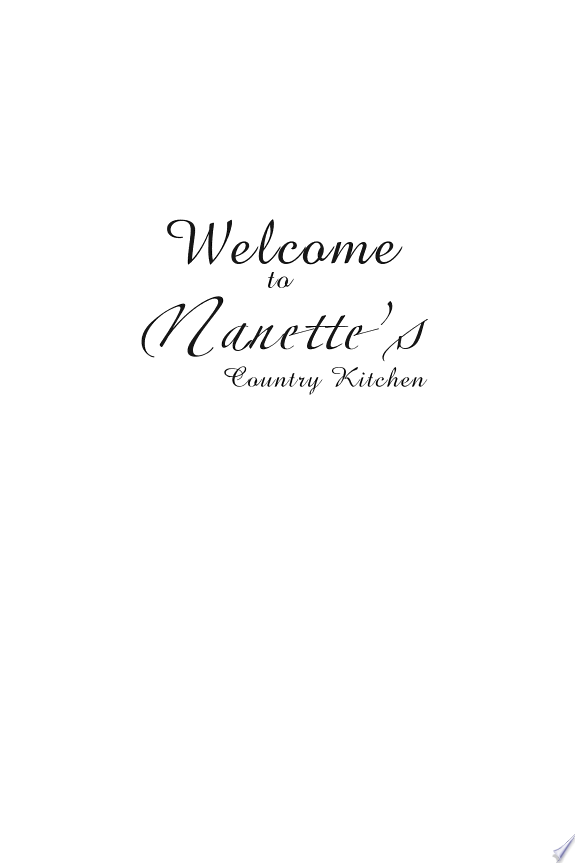 Welcome to Nanette's Country Kitchen