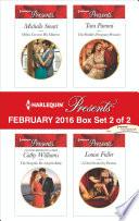 Harlequin Presents February 2016 Box Set 2 Of 2