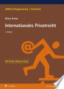 Internationales Privatrecht