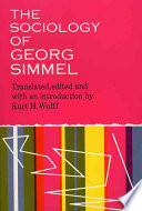 The Sociology of Georg Simmel