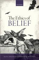 The Ethics of Belief Pdf/ePub eBook