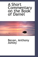 A Short Commentary on the Book of Daniel