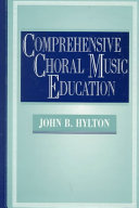 Comprehensive Choral Music Education Book PDF