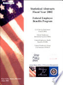 Statistical Abstracts  Federal Employee Benefit Programs
