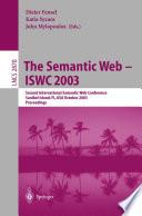 The Semantic Web   ISWC 2003