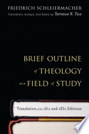Brief Outline Of Theology As A Field Of Study