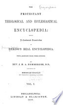 The Protestant Theological And Ecclesiastical Encyclopedia Book PDF
