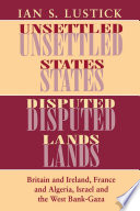 Unsettled States  Disputed Lands