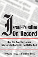 Israel Palestine on Record