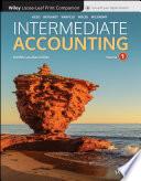 Intermediate Accounting  Volume 1  Loose Leaf Print Companion