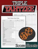 Triple Yahtzee Score Sheets