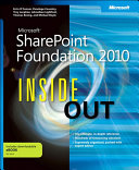 Microsoft SharePoint Foundation 2010 Inside Out Book