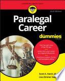 Paralegal Career For Dummies